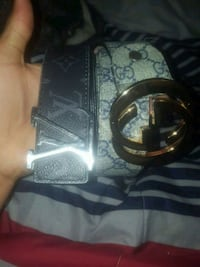 black and gray Gucci leather belt Winchester, 22601
