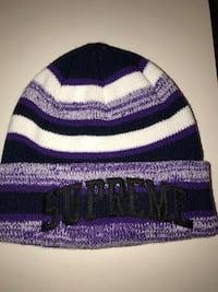 (New) Purple SUPREME Heather beanie Bethesda, 20817