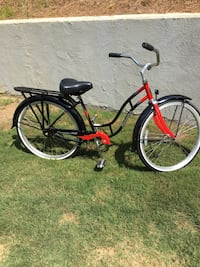 red and black cruiser bike Boiling Springs, 29316