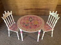 Disney Princess Tables and Two Chairs