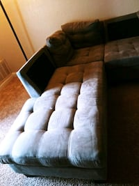 sofa missing 2 cushion looks like new