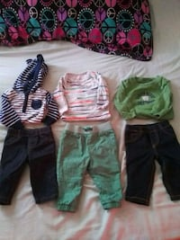 Fall/ winter Baby boy clothing Severn