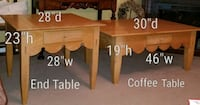 Beautiful high end matching tables Crystal Lake, 60014