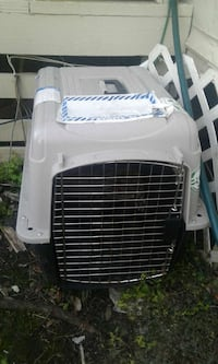 pet cage 25-30lbs new used once Merritt Island, 32953