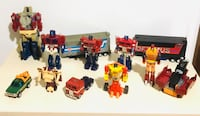 Vintage 80s Bandai Takara Japan Transformers Gobots Set  Includes hard-to-Find Collectors Set Milton, L9T 4H8
