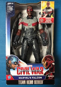 "Marvel Avengers ""Falcon"" action figure 326 mi"