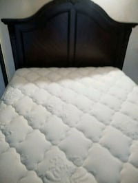 Queen bed frame and mattress. Bakersfield, 93312