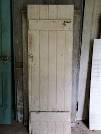 "62 x 20 1/2"" white old door Thurmont, 21788"