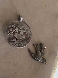 Bird pendants