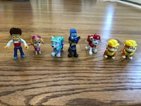 Paw patrol action figures  Cary, 27513