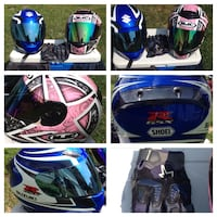 blue and black full-face helmet Blountville, 37617