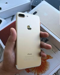 Gold iphone 7 pluses.  Maryland