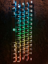 Bluetooth 60% gaming keyboard.