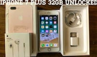 Iphone 7 Plus 32GB UNLOCKED (Like New)  Arlington