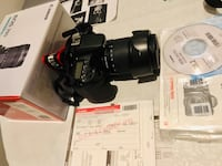 Canon EOS 70D and EF-S 18-135 IS STM Kit Toronto, M2N 7B9