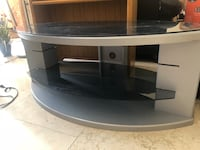 Gray and black tv stand El Paso, 79922