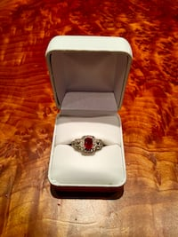 Ruby diamond ring Mc Lean, 22102