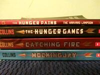 the hunger games trilogy by susan collins including parody Oklahoma City, 73142