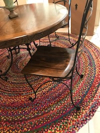 Wood top round table Roswell, 30076