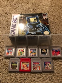 Game boy played couple times always keep in box has 10 games all original instructions with it$150 obo  Springfield, 22150