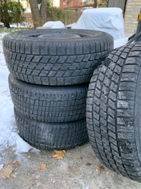 Used Winter tires with rims London, N6J 4X7