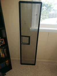 black wooden framed glass door Woodbridge, 22193