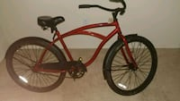 Red color cruiser bike.  Falls Church, 22042