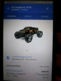 Rca car hpi savage flux perfect condtion nothing w Springfield, 65803
