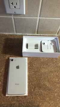 Silver iPhone 8 with