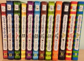 Diary of a Wimpy Kid (full set) (books 1-13)