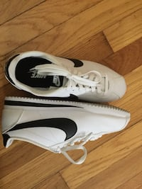 Brand New black-and-white Nike Cortez shoes. Firm on price. Warren, 48091
