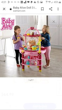 Baby alive cook and care playset