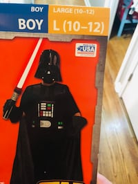 Darth Vader kids costume size- large Corpus Christi, 78404