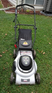 Lawn mower electric by Task Force Herndon, 20170