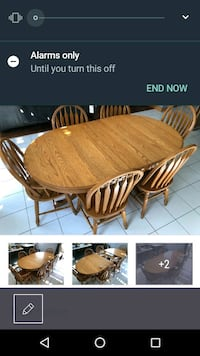 brown wooden dining table set Niagara Falls, L2E