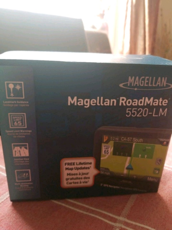 "Magellan road mate 5""gps new in box bf74f9cd-f324-4586-82cd-0095d5fbd0bf"
