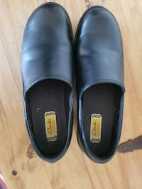 pair of black leather slip-on shoes Ocala, 34471