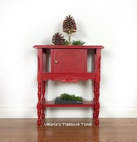Red Accent Table Middlesex Centre, N6H 5L2