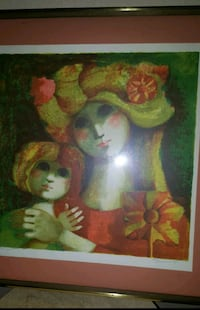 two woman in green dress painting Ocala, 34470