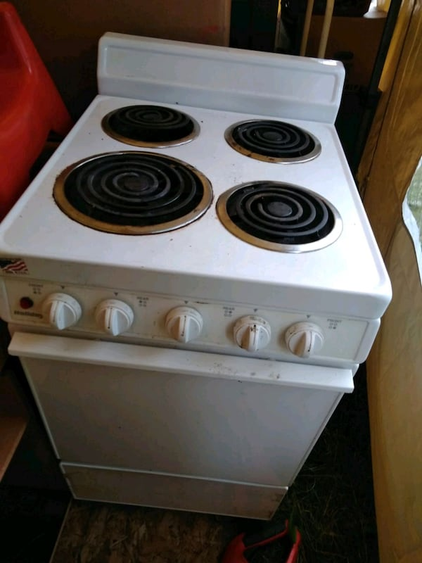 Used Apartment Size Electric Stove For