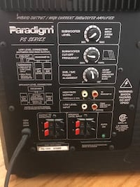 Paradigm PS Series PS-1000 V1 Subwoofer WESTNEWYORK