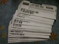 white and Over $100.00 in coupons Zanesville, 43701