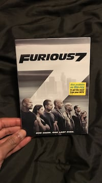 Furious 7 dvd case Hyattsville, 20783