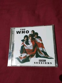 THE WHO BBC SESSIONS CD ORIGINAL  6114 km