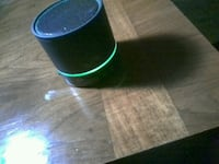 round black and green portable speaker Seattle, 98168