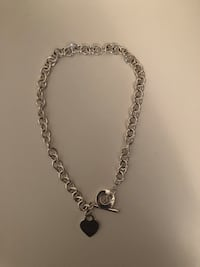Tiffany Inspired Sterling Silver Necklace