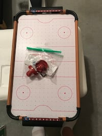 white and green air hockey table Copperas Cove, 76522