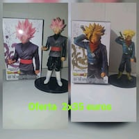 Goku black rose y trunks dragon ball