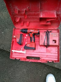 red and black cordless power drill Surrey, V3R 3L5