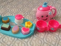 Fisher price tea set (like new) Brampton, L6S 3K9